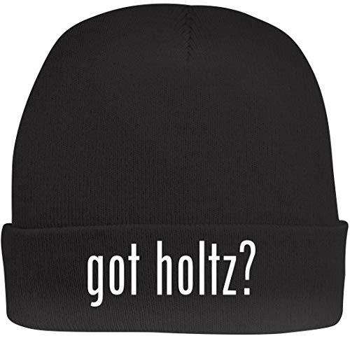 Shirt Me Up got Holtz? - A Nice Beanie Cap, Black, OSFA