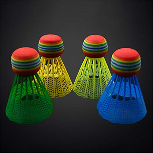 Dreamseeker 10 Pack Badminton Shuttlecocks, Nylon Badminton Stable, Durable Shuttlecocks, for Indoor Outdoor Sports Training Badminton Balls