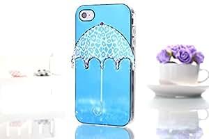 MPCE Cute umbrella Pattern TPU Case for Apple iPhone 5G & Free Screen Protector