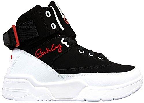 Ewing Athletics Ewing 33 Ciao Nero Rosso Bianco Basket Schuhe Scarpe Da Uomo
