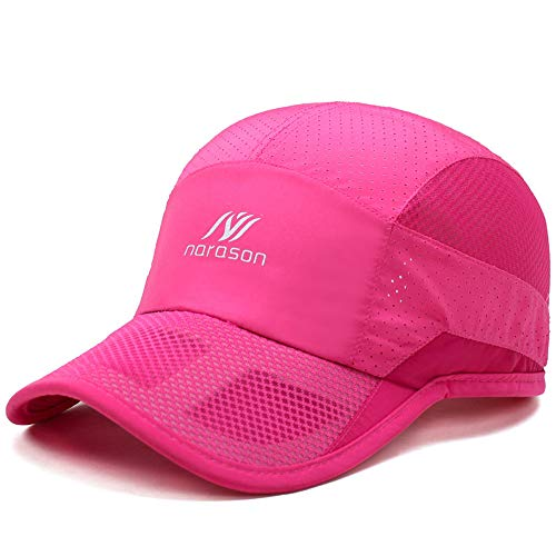 ITODA Summer Mesh Baseball Dad Hat Quick Dry Mesh UV Sun Visor Protection Breathable Cooling Adjustable Beach Unconstructed Spring Fall Cap