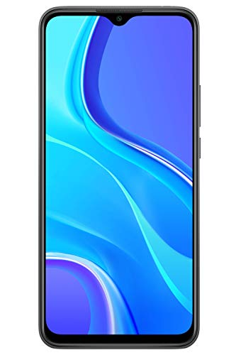 Smartphone, Simfree Unlocked, Android, XIAOMI Redmi 9 4GB+64GB Carbon Grey, Official UK Version + 2 Year Xiaomi Warranty