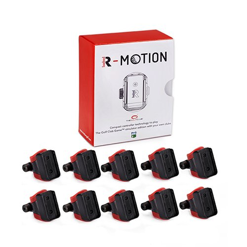 Rapsodo R-Motion and The Golf Club Simulator and Swing Analyzer - 13 Clip Club Attachment Kit (Tracker Not Included)