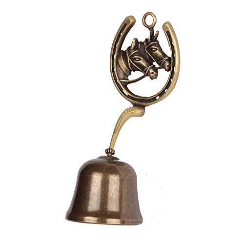 [해외]Anahbell Shopkeepers Door Bell Store Entry Door Chime Home Decoration ? Horse Spring Bell (Large) / Anahbell Shopkeepers Door Bell Store Entry Door Chime Home Decoration - Horse Spring Bell (Large)