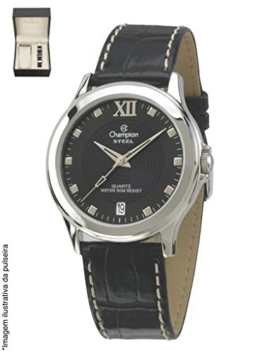 Relógio Champion Masculino com calendário kit com pulseira CA20563C