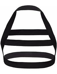 Men's Nylon Body Chest Harness Lingerie Elastic Shoulder Support Brace