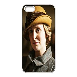 Yearinspace Downton Abbey Lady Edith Case For iPhone 5,5S Girl, Iphone 5 Case For Guys Design With White