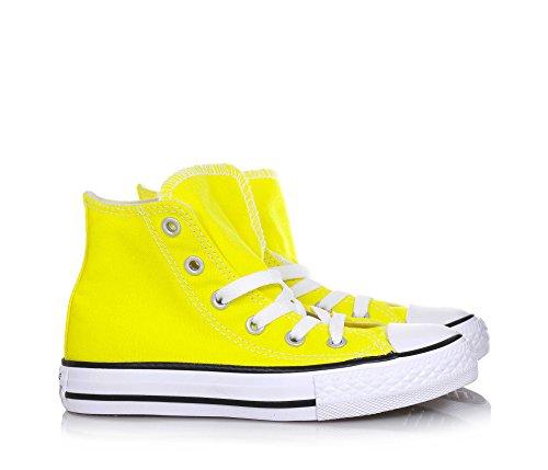 Logo Taylor Originale Bianchi Stringata Tessuto All Sneaker Bambina Gialla Converse Lacci Bambino Star di Chuck Yellow Unisex w7nqSPxFAI