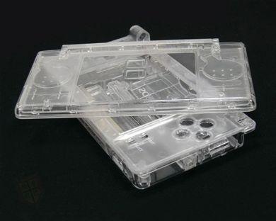 SATKIT Carcasa Recambio para Nintendo DS Lite (TRANSPARENTE ...