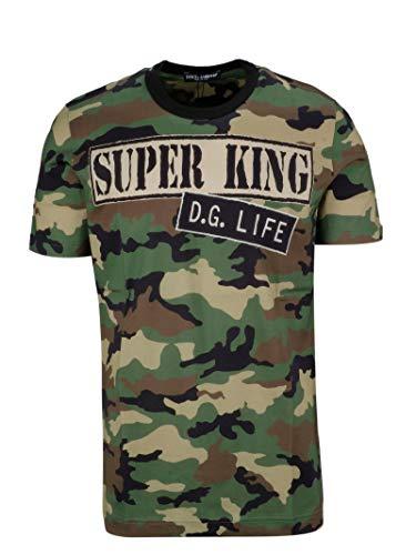 Gabbana Dress Dolce Shirt Cotton & (Dolce e Gabbana Men's G8ia8thh7lyhuk39 Multicolor Cotton T-Shirt)