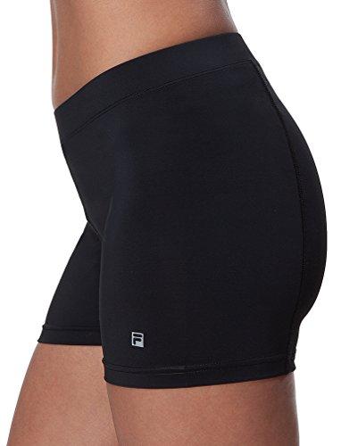 Fila Women's Ball Athletic Shorts, Black, S