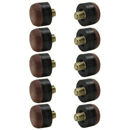 13mm Cue - Screw-on Tips for Pool Cues- 13mm - Hard