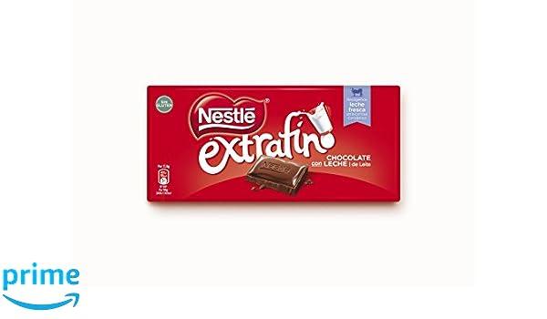 Nestlé Extrafino Chocolate Con Leche - Tableta de Chocolate - 28x125g: Amazon.es: Alimentación y bebidas