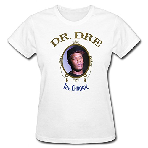 muso-womens-the-chronic-dr-dre-t-shirt-short-sleeves-white-xxl