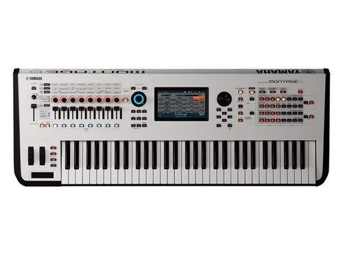 Yamaha, 61-Key Synthesizer (MONTAGE6 WH) by YAMAHA
