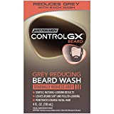 Just For Men Control GX Grey Reducing Beard Shampoo for Mustache & Beard, 4 Fluid Ounce