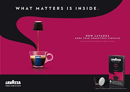(80 x LAVAZZA - Nespresso OriginalLine Compatible Capsules - ESPRESSO DECISO - Intensity 10)