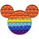 Brinquedos Pop its fidget Fidget Rainbow Push It Bubble Brinquedos Antistress Crianças Adultos Aliviador de Estresse Brinqued