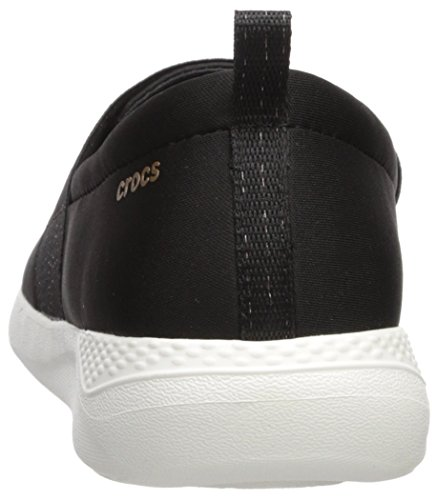 Pour Gold Crocs rose Noir white Black Femme Mode 205103 Baskets t8wqFa8