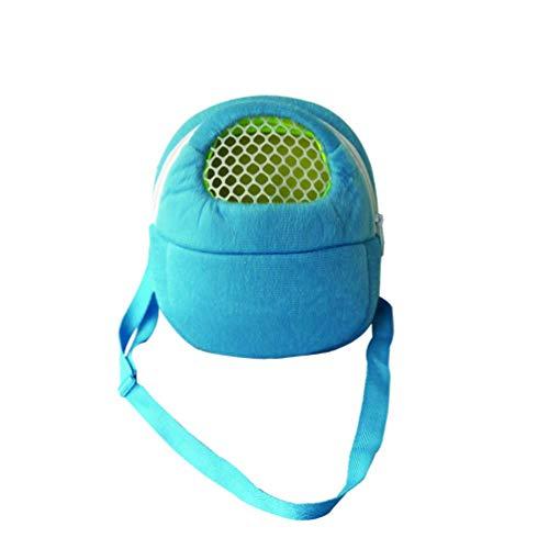 (Small Pet Carrier Bag Animal Outgoing Bag with Shoulder Strap Portable Travel Handbag Backpack for Hedgehog Hamster Mouse Rat Sugar Glider Squirrel Chinchilla Rabbit (X-Large))