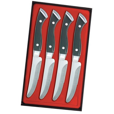Boston Chop Steak Knife Set (Set of 4)