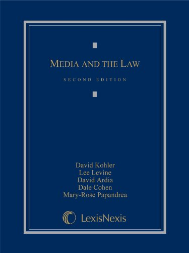 David S. Ardia, LL.M., J.D., M.S.  Publication