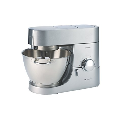 Kenwood KMC011 5 quart Chef Titanium Kitchen Machine, Stainless Steel Review