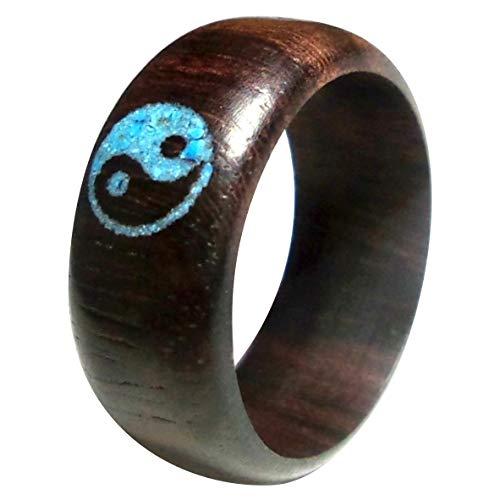 Chic-Net  Herren Ring aus Sonoholz Holz