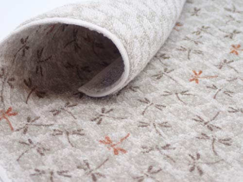 Dragonfly Tonbo (Grey) - Imabari Towel, Decorative Luxury Fingertip Towel, Japanese Traditional Design, Towel Handkerchief, Gift -