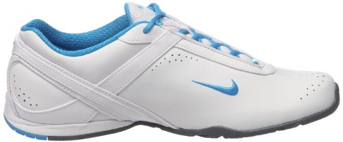 Wei Glow Cardio Grey Femme Air Wmns Chaussures blue Iii Blanc white cl Fitness Nike Lea Silver metallic De vgRqw