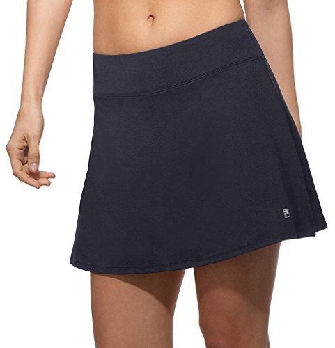 Fila Women's Core Flare 15'' Tennis Skorts (Small, Peacoat)