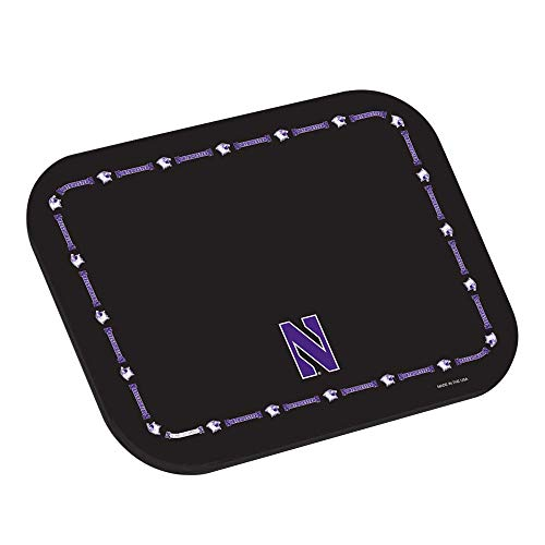 Master Strap NCAA Collegiate Placemats - University of Northwestern Wildcats - Set of 4