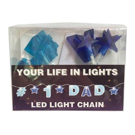 The Name People Celebration in Lights LED String Light Banner 1 Dad