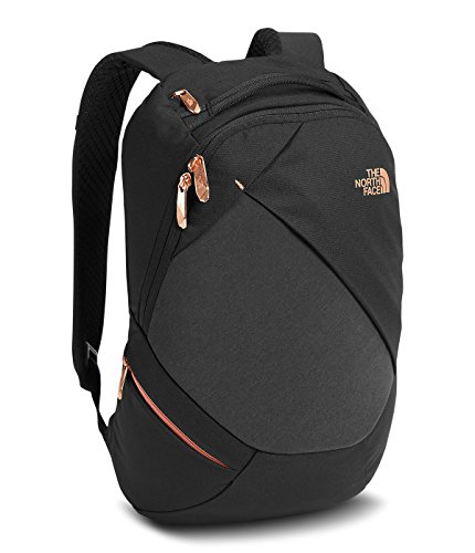 the-north-face-womens-electra-backpack-tnf-black-heather-burnt-coral-metallic