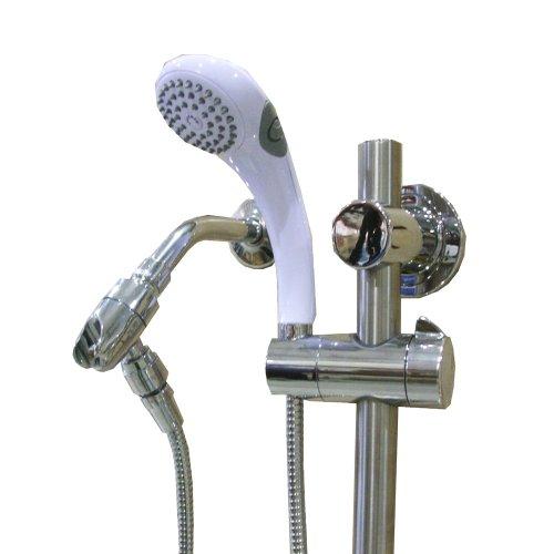 Speakman white faucet white speakman faucet for Speakman shower heads home depot