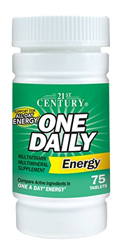 21st Century One Daily Tablets - 21st Century One Daily Energy Tablets, 75 Count