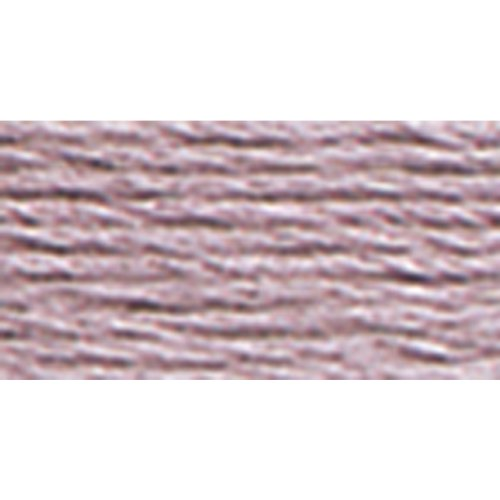 DMC 117-3042 Six Strand Embroidery Cotton Floss, Light Antique Violet, 8.7-Yard (Antique Dmc Floss)