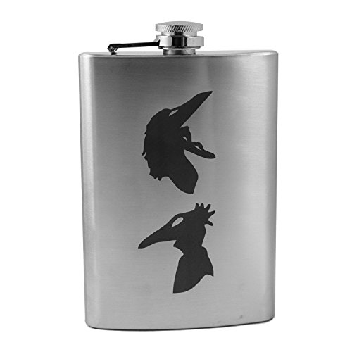 8oz Be Scary Flask L1 -