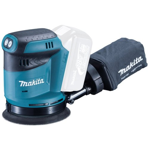 Makita DBO180Z Cordless Body Only Cordless 18 V Li-ion Random Orbit Sander, 125 mm ZMAK-DBO180Z