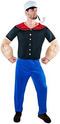 Disfraz de Marinero forzudo para hombre: Amazon.es: Juguetes y juegos