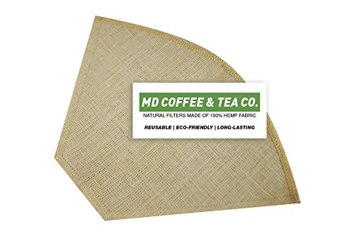 6 coffee filters unbleached - 9