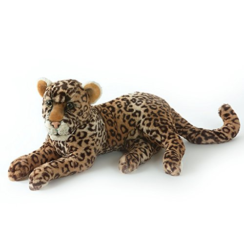 Kuscheltier Leopard - von STEINER - Kuscheltier handgefertigt in Deutschland