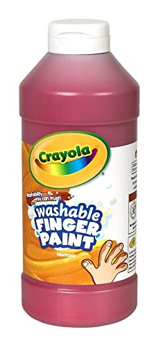 Crayola Washable Finger Paint, 16 Oz., - Paint Oz Washable Finger 16