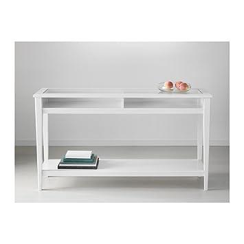 Ikea Liatorp Konsole Tisch Weiß Glas 133 X 37 Cm 5 Pack
