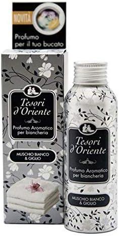 TESORI D'ORIENTE Profumo per Biancheria Muschio Bianco & Giglio 100 ML