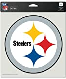 "NFL Pittsburgh Steelers Die-Cut Color Decal, 8""x8"", Team Color"