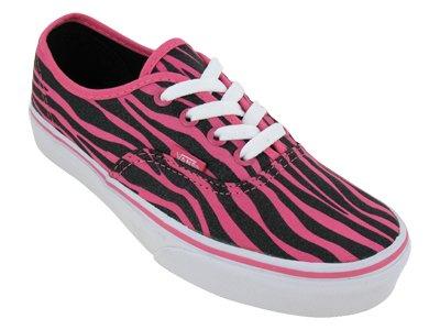 Vans メンズ Vans Women's Authentic Zebra Glitter Skateboarding