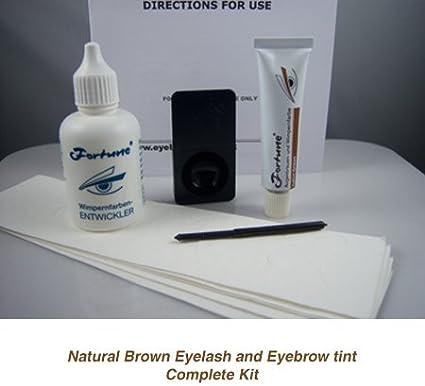 Kit de tinte natural para pestañas y cejas de la marca Fortune