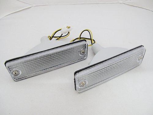 Series B2000 (85 86 96 97 98 Mazda Bravo B-series B2000 B2200 B2600 Pair of Turn Signal Light Clear Lens)