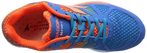 Diadora N-6100-2, Uomo Azzurro/Arancio